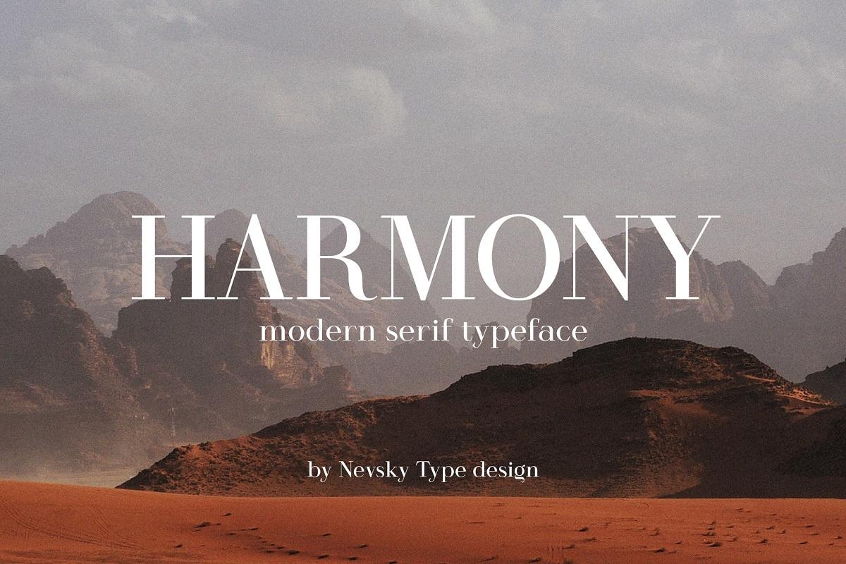 Harmony-Font