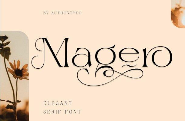 Magero Font