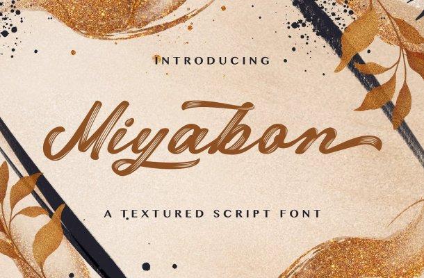 Miyabon Font