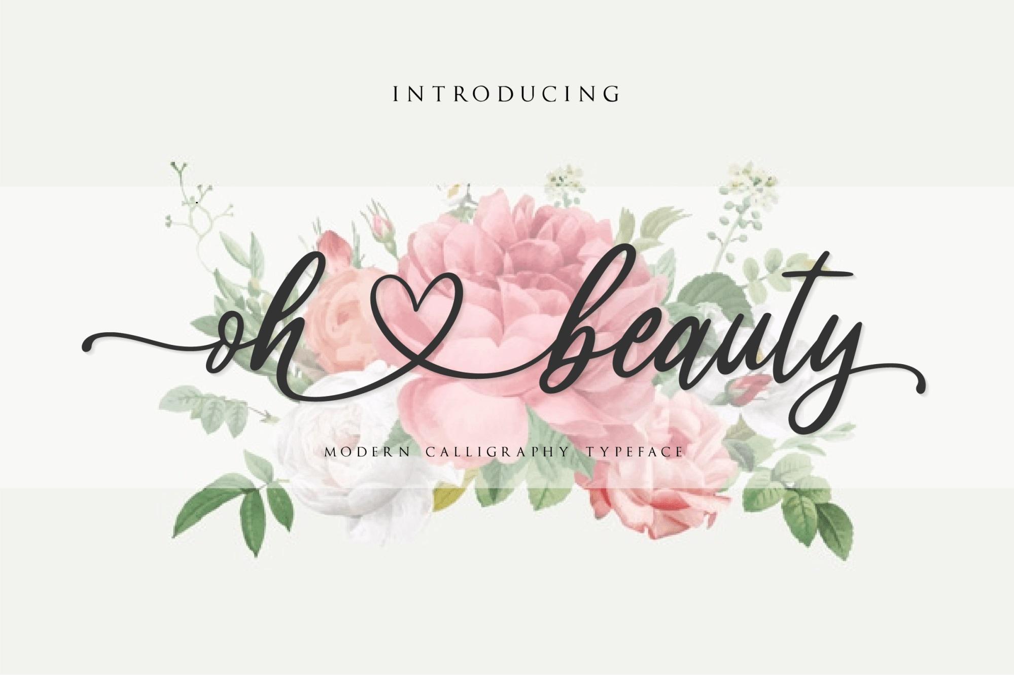Oh-Beauty-Font