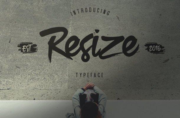 Resize Font