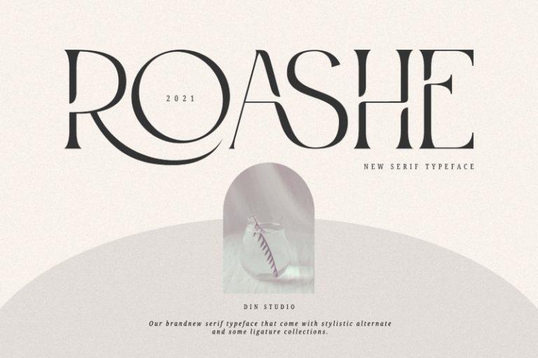 Roashe-Font