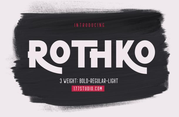 Rothko Font