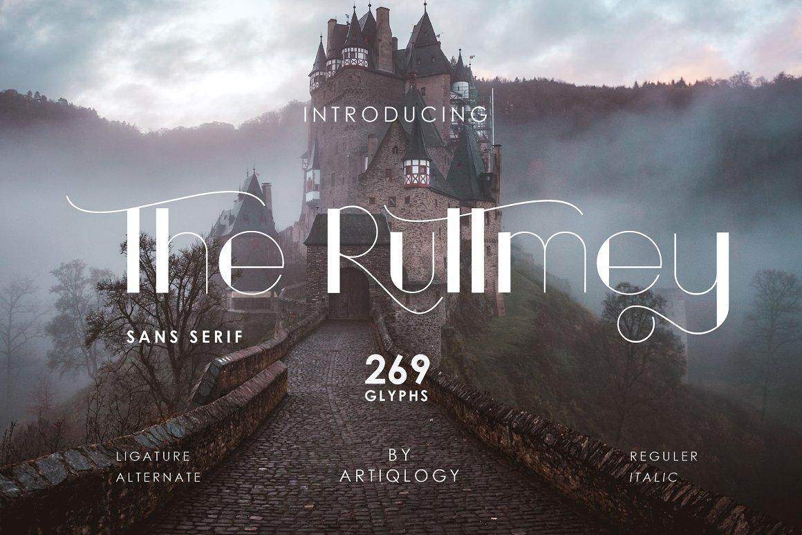 The-Ruttmey-Font