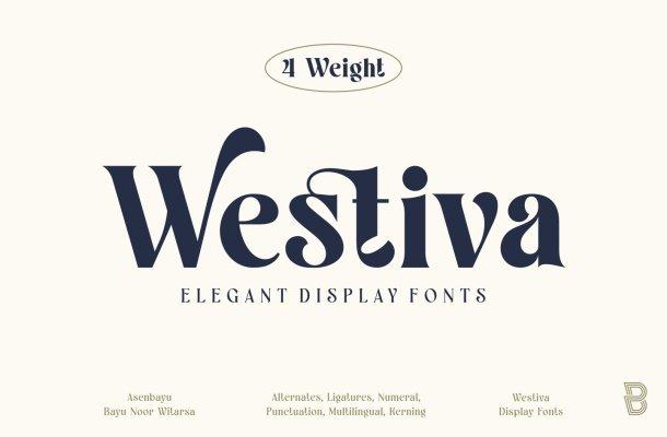 Westiva Font Family