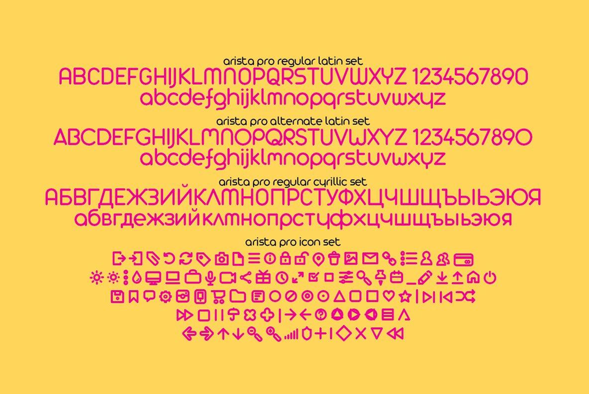 Arista-Pro-Font-3