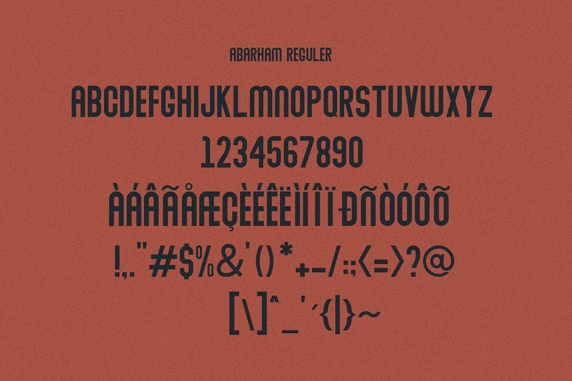 Abraham-Font-Family-3