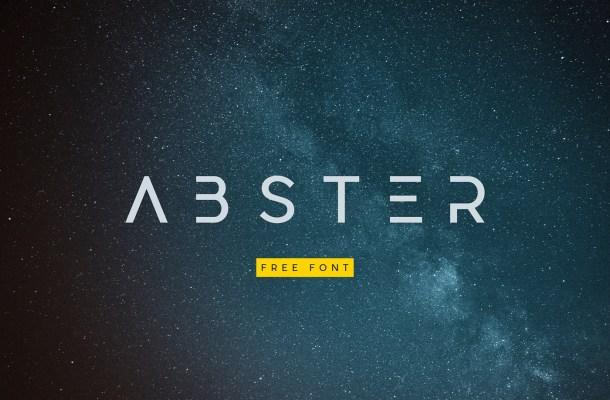 Abster-Font