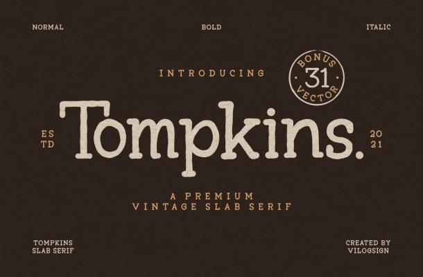 Tompkins Font