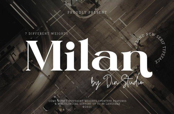 Milan Font
