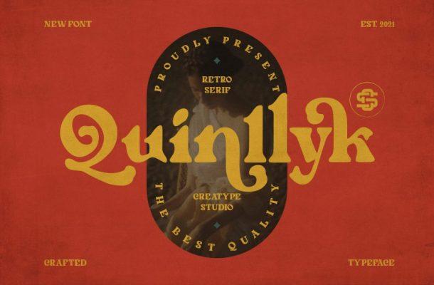 Quinlliyk-Font