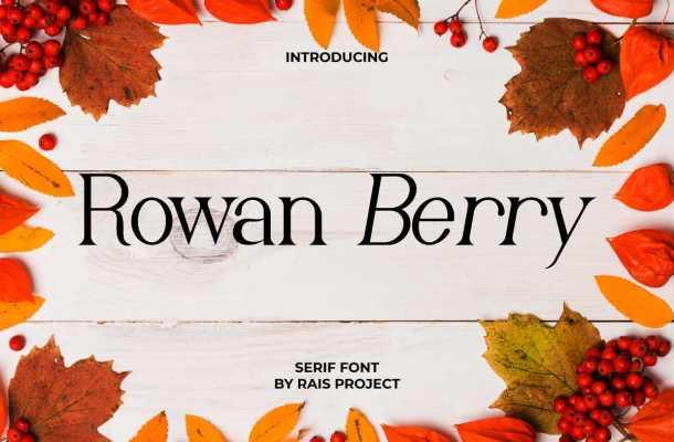 Rowan Berry Font