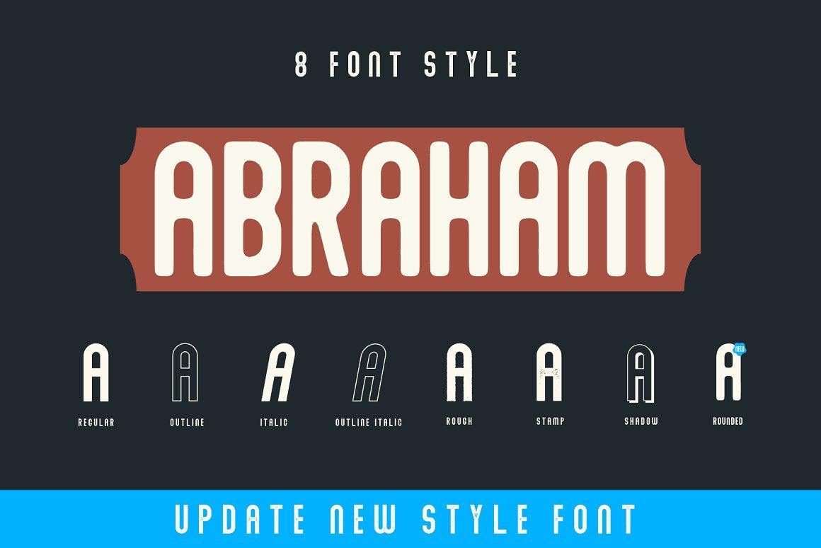 Abraham-Font-Family