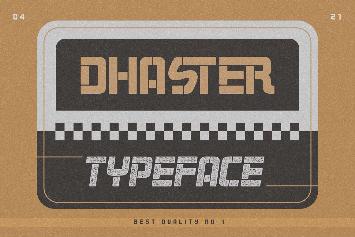 Dhaster-Font