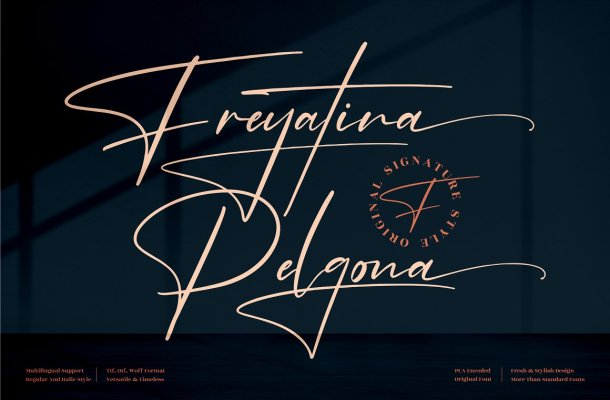 Freyatina Pelgona Font