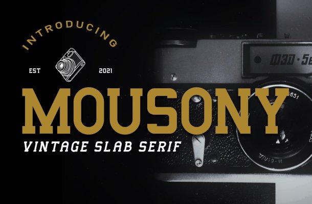 Mousony-Font