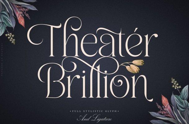 Theater Brillion Font