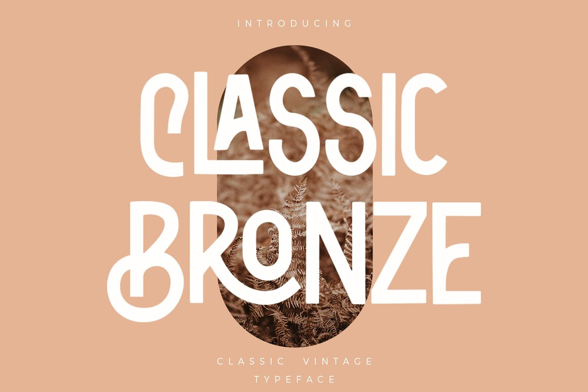 Classic-Bronze-Font