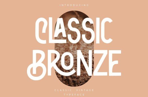 Classic Bronze Font