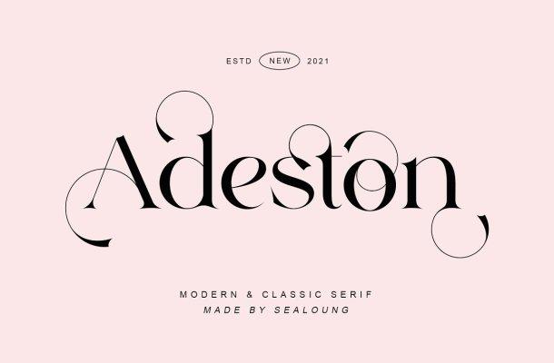 Adeston Font