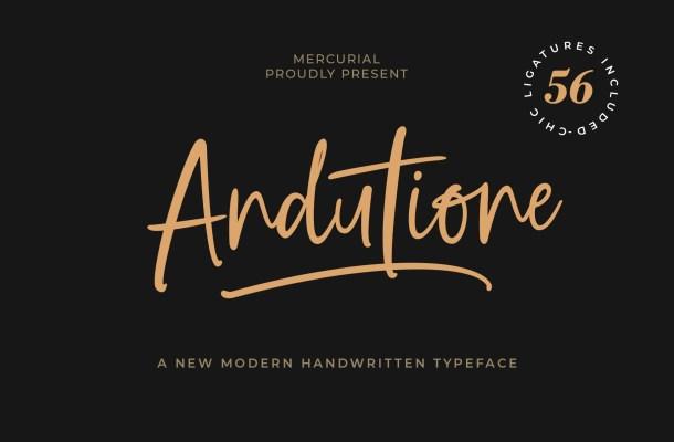 Andutione Font