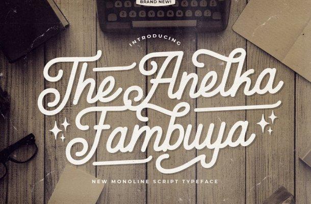 Anelka Fambuya Font