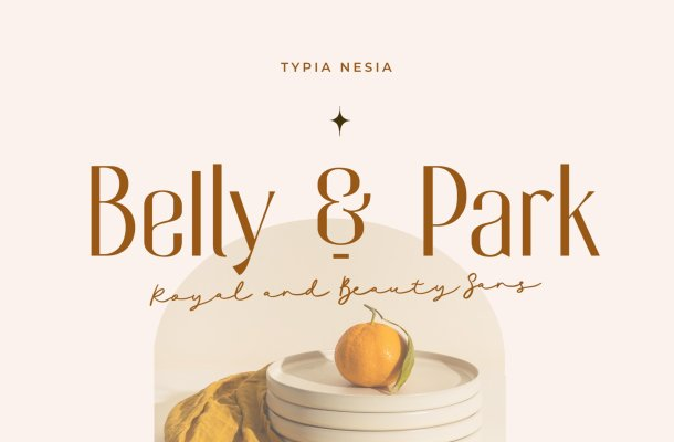 Belly And Park Font