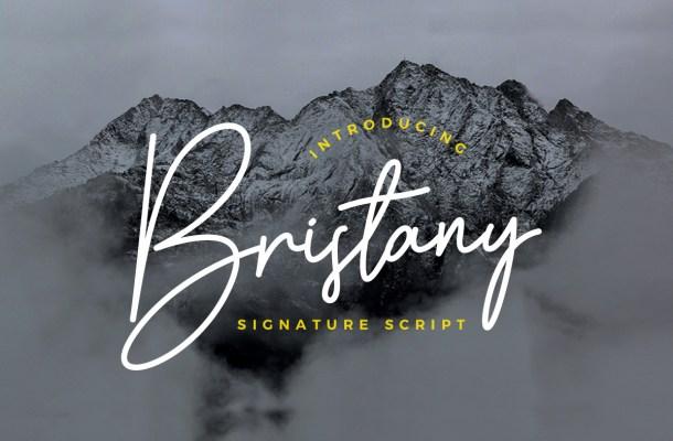 Bristany Font