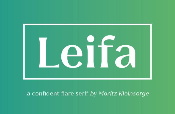 Leifa Font