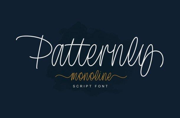 Patternly Font