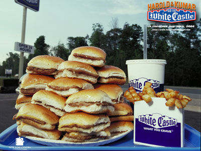 Two free sliders at White Castle on May 15