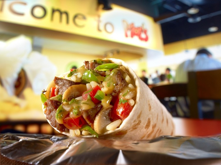 Free burrito from Moes