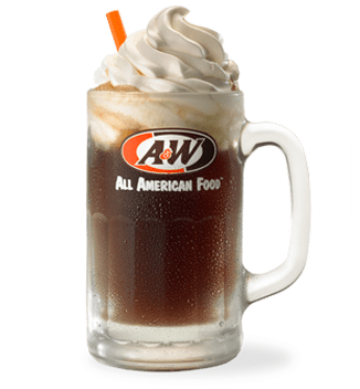Free A&W Root Beer Float on August 6