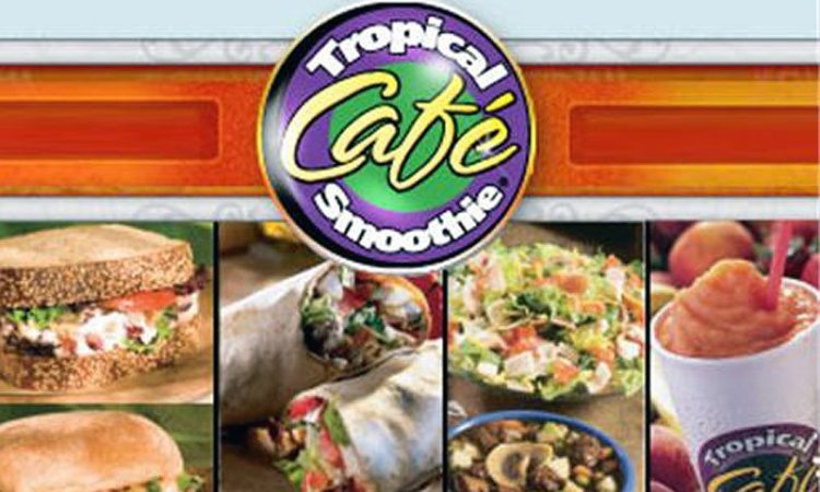 $5 credit at Tropical Smoothie Cafe