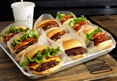 Unlimited free burgers from Shake Shack!