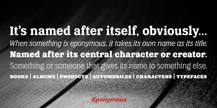 eponymous-5