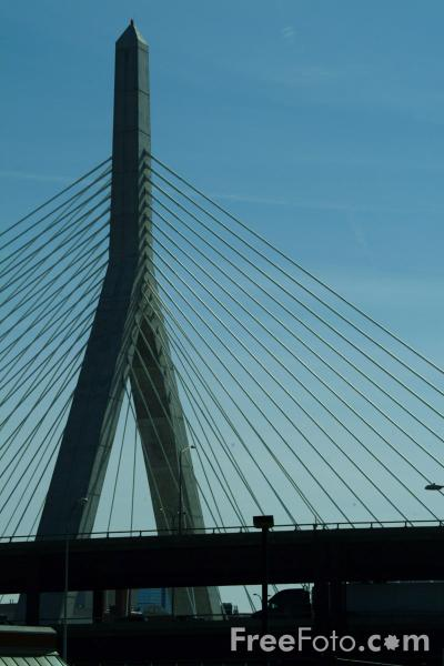 New Charles River Bridge Boston Massachusetts Pictures Free Use Image 1211 18 77 By