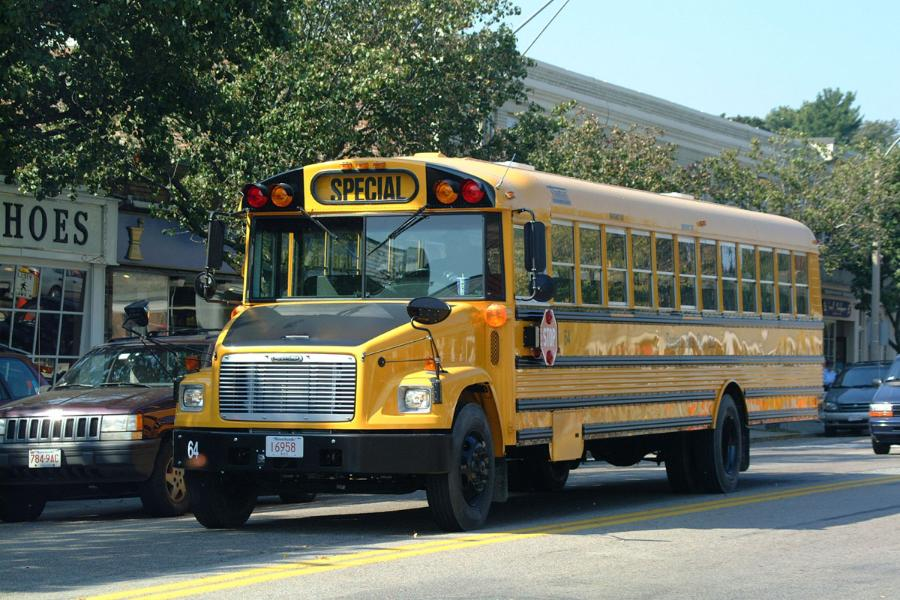 Image result for yellow school bus wellesley