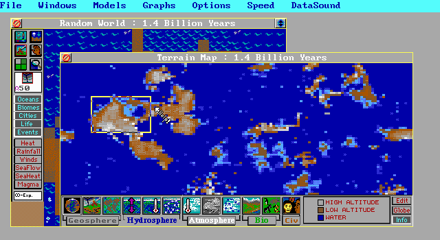 SimEarth Old DOS Games Download For Free Or Play On