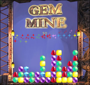 Room Escape games  Point n Click games  Puzzle games  walkthroughs     Created in late 2005 by Sergei Smart of Russia  Gem Mine is a clone of  Collapse  a Puzzle game published in 1999 by GameHouse