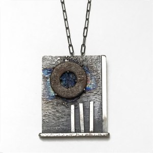 Big Circle Necklace by Theresa St. Romain