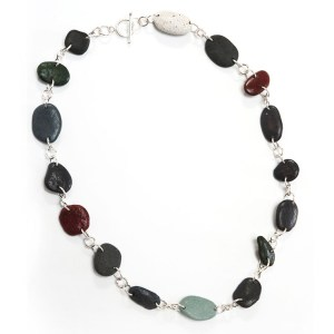 Primsa Colored Rock Necklace by Deborah Boskin