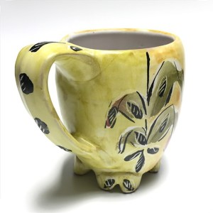 Yellow Mug by Posey Bacopoulos