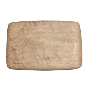rectangular wood cutting board