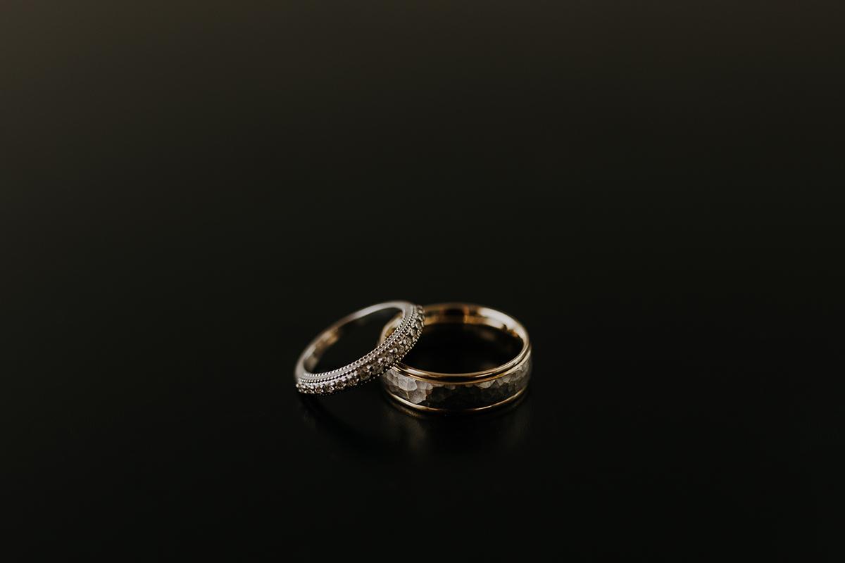 wedding band details | sarasota wedding photographer