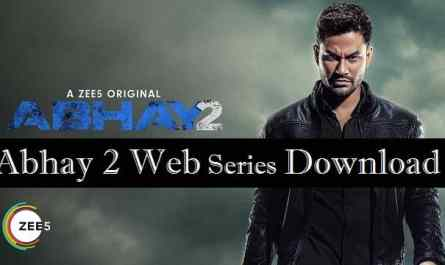 Abhay-2-web-series-download