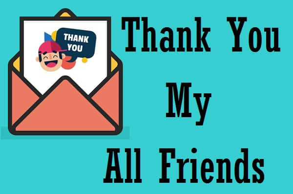 {Best 50+} Thank You Images For Friends HD Download