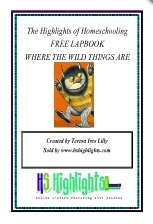 Free Where the Wild Things Are Lapbook