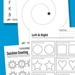Free Kindergarten Readiness Printables