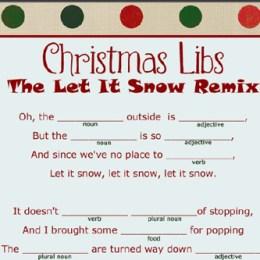 Free Christmas Mad Libs Printable
